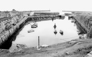 Seaham, the Harbour c1965