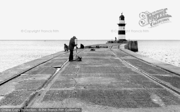 Photo of Seaham, the Lighthouse c1955, ref. s287017