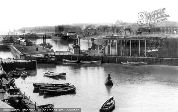 Photo of Seaham, the Old Harbour c1955, ref. s287024