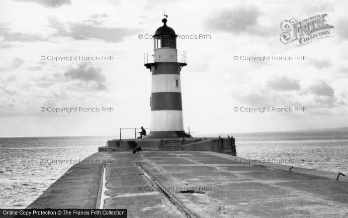 Photo of Seaham, the Pier Lighthouse c1955, ref. s287022