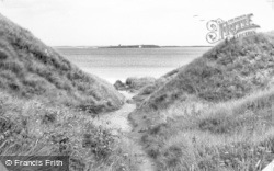 Farne Island From The Coast Guard Station c.1955, Seahouses