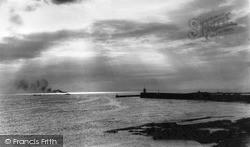 Seahouses, Sunrise c.1955
