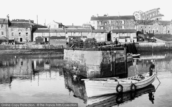 Seahouses, The Harbour c.1936
