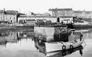 Seahouses, the Harbour c1936