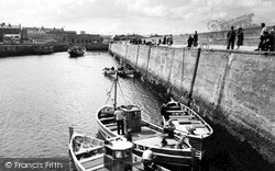 The Harbour c.1955, Seahouses