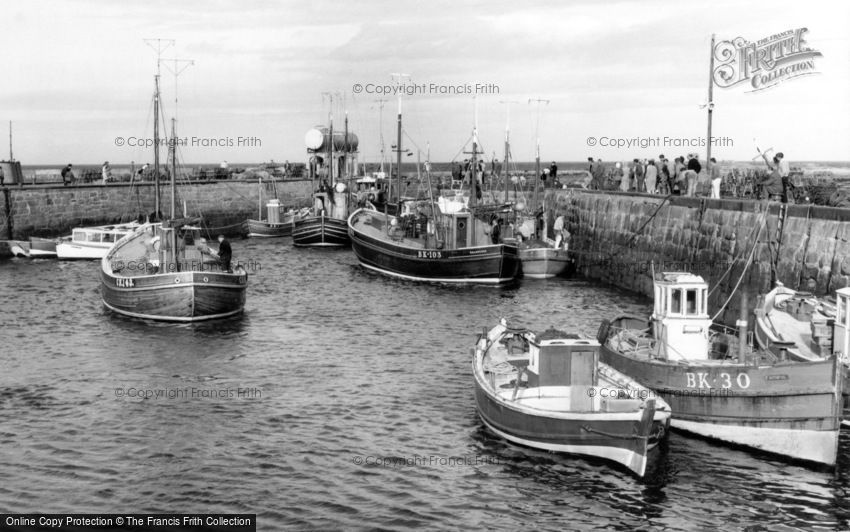 Seahouses, the Harbour c1965