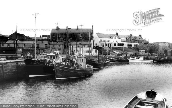 Photo of Seahouses, The Harbour c.1965