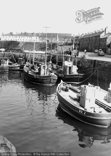 Photo of Seahouses, the Harbour & Fishing Fleet c1965