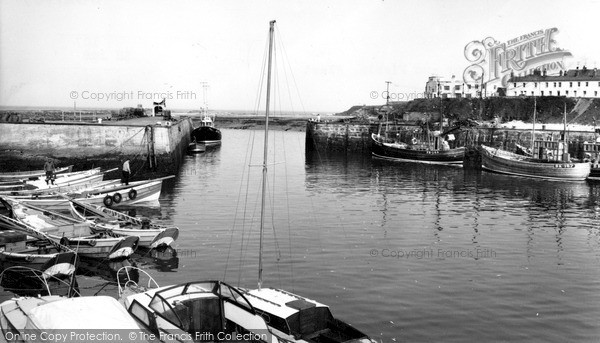 Seahouses, The Harbour & Fishing Fleet c.1965