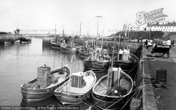 Seahouses, The Harbour & Fishing Fleet c.1965