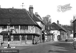 Seal, The Almshouses And High Street c.1955