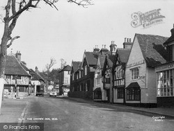 Seal, The Crown Inn c.1955