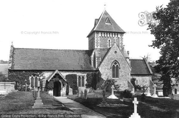 Photo of Seale, St Laurence's Church 1906