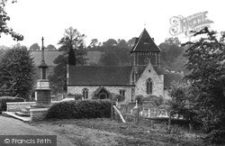 Seale, St Lawrence's Church c.1955