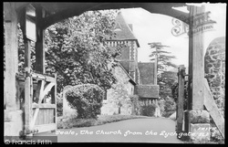 Seale, The Church From The Lychgate c.1955