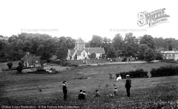 Seale, Village from Hogs Back 1906