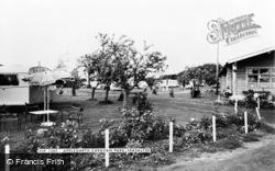 Seasalter, Applegarth Caravan Park c.1960