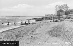 Seasalter, Beach Scene c.1955