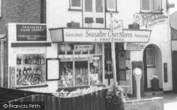 Cash Stores And Post Office c.1960, Seasalter