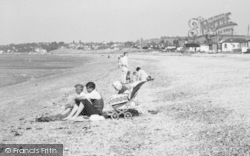Family On The Beach c.1955, Seasalter
