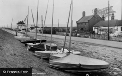 From The Sea Wall c.1955, Seasalter