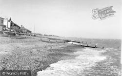 Seasalter, The Beach c.1955
