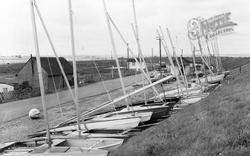 Seasalter, The Catamaran Sailing Club c.1955