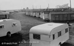 Seasalter, Waldens Caravan And Chalet Site c.1960