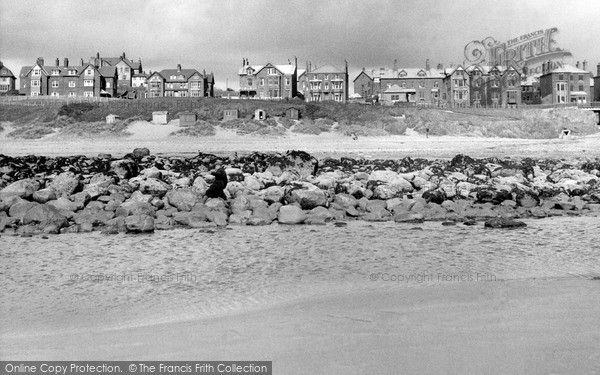 Photo of Seascale, from the Beach c1955, ref. S653004