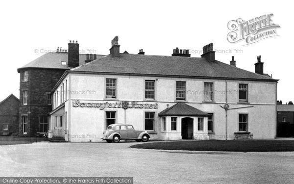 Photo of Seascale, Scawfell Hotel c1955, ref. S653012