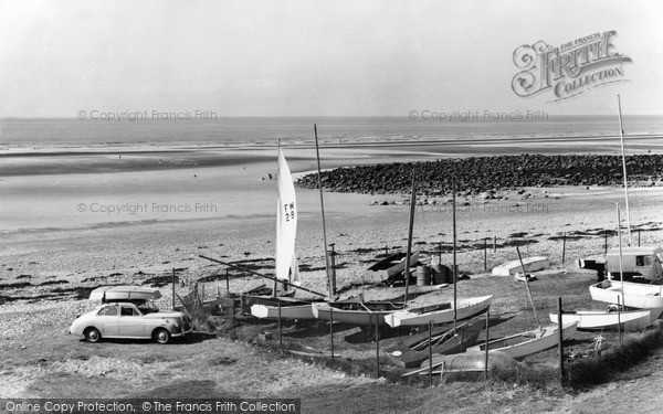 Photo of Seascale, the Beach c1960, ref. S653021