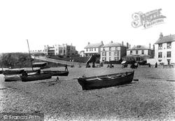 Beach And Castle 1898, Seaton