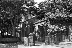 Seaton Carew, Holy Trinity Church c.1955