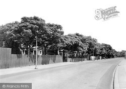 Seaton Carew, Station Lane c.1955
