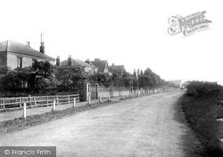 Seaton Carew, Station Road 1892
