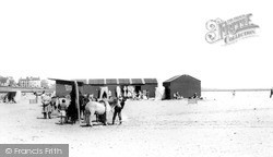 Seaton Carew, The Beach c.1965