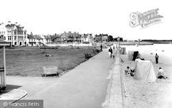 Seaton Carew, The Promenade c.1965