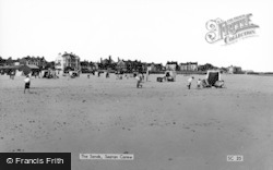 Seaton Carew, The Sands c.1965