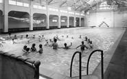 Seaton Carew, the Swimming Bath c1955
