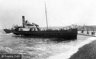 Seaton, Embarking the 'Victoria' 1927