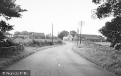 Hilltop From The East c.1960, Seaton