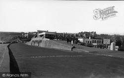 Shelter And Promenade c.1950, Seaton