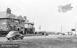 Seaton Sluice, Beach Corner c.1955