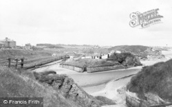 Seaton Sluice, c.1955