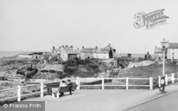 Seaton Sluice, Rocky Island c.1955