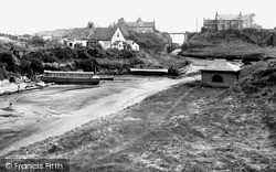 Seaton Sluice, The Harbour c.1955