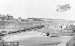 Seaton Sluice, The Harbour c.1955