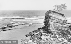 Seaton Sluice, The Rock, Known Locally As 'charlie's Garden' c.1965