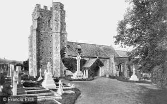 Seaton, St Gregory's Church and War Memorial 1922