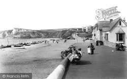 The Beach And Promenade 1898, Seaton